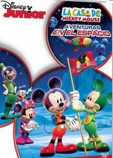 La Casa de Mickey Mouse: Aventuras en el Espacio – DVDRIP LATINO
