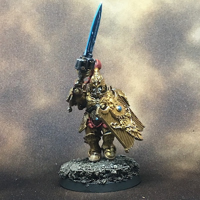 WIP Adeptus Custodes or Custodian Guard squad member 1 gallery shot front