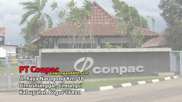 Lowongan Kerja PT Conpac Cileungsi 2019