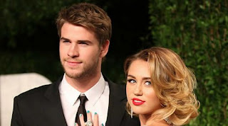 Miley Cyrus and Liam Hemsworth Wedding Rumor Inflammable With Same Ring On Finger