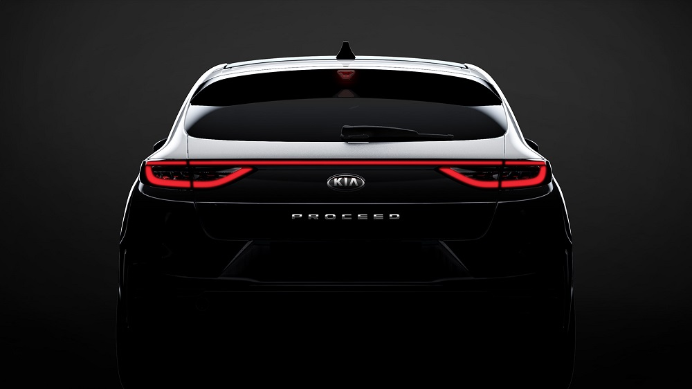 Kia previews design of new ProCeed