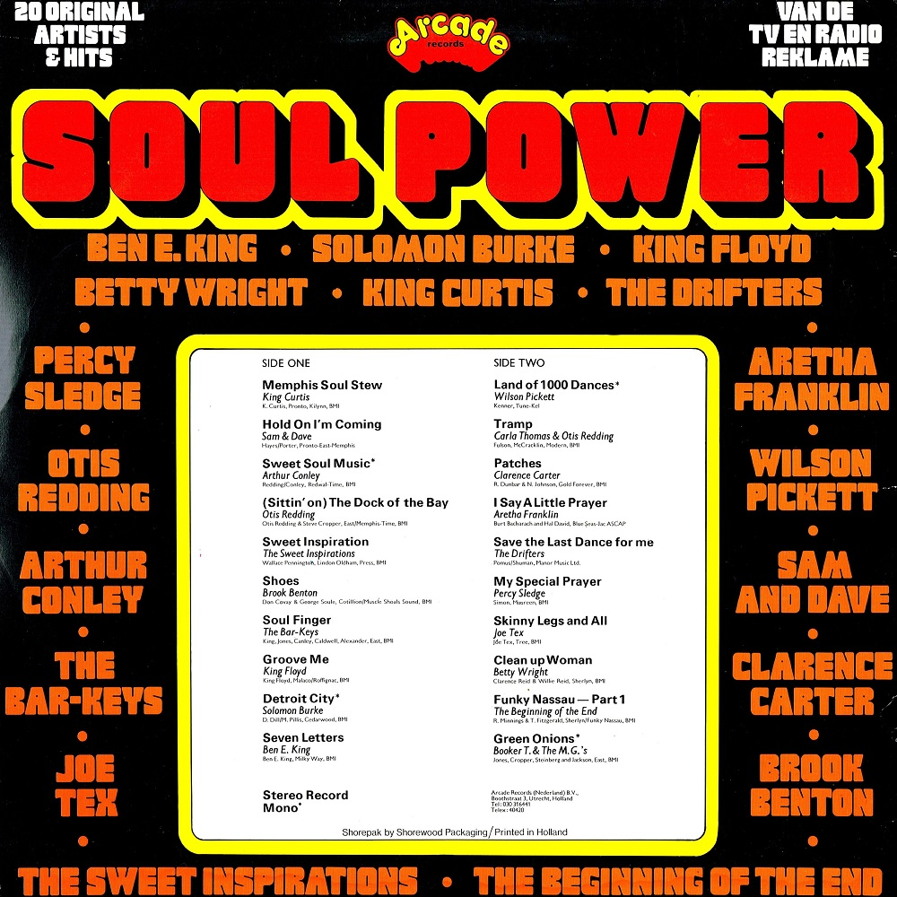 Memphis Soul Stew King Curtis: Blog Met Verzamel Albums