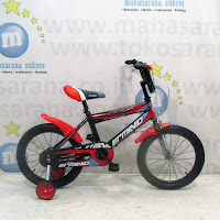 16 erminio bmx sepeda anak