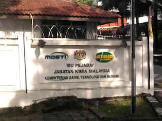 Jabatan Kimia Latihan Industri