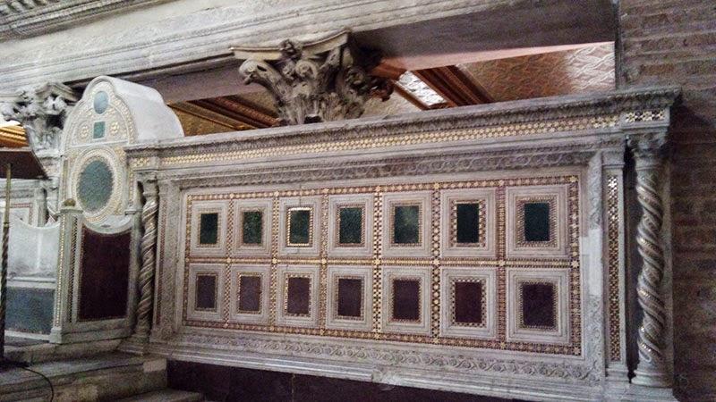 catedra sao lourenco guia de roma - Basílica de São Lourenço Fora dos Muros
