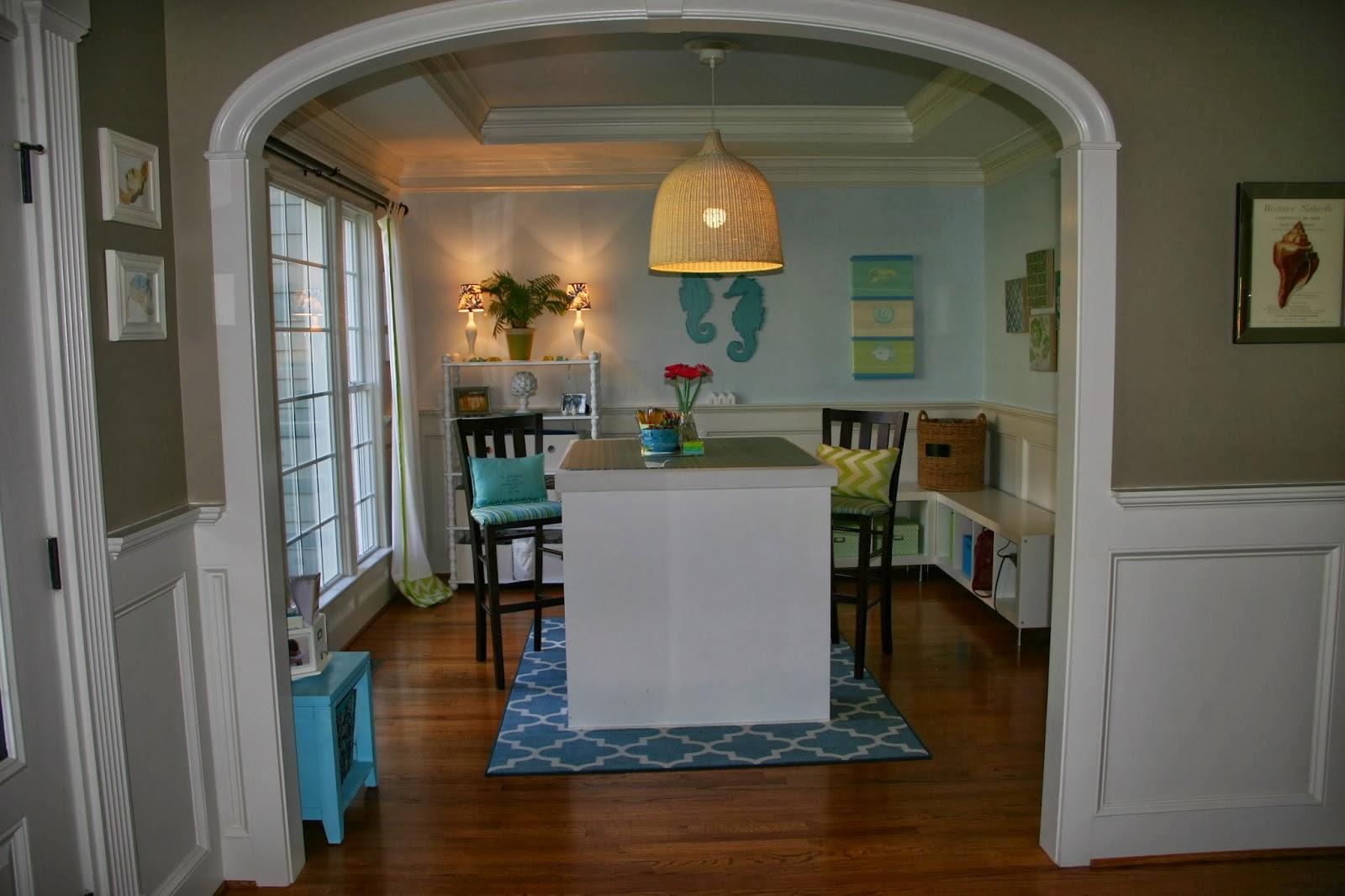 repurpose dining room | Cottage Blue Designs: Repurposing A Room