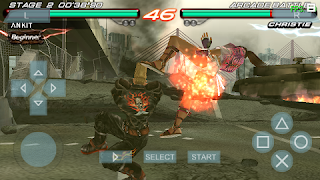 Download Game Tekken for PSSPPP