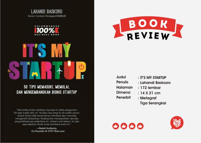 [DESIGN AND CREATIVITY] Buku tentang Startup Indonesia dari Content Strategiest KASKUS