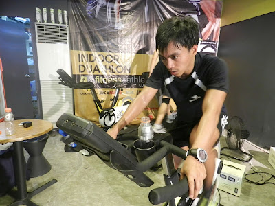 RunningAtom Indoor Duathlon Bike leg
