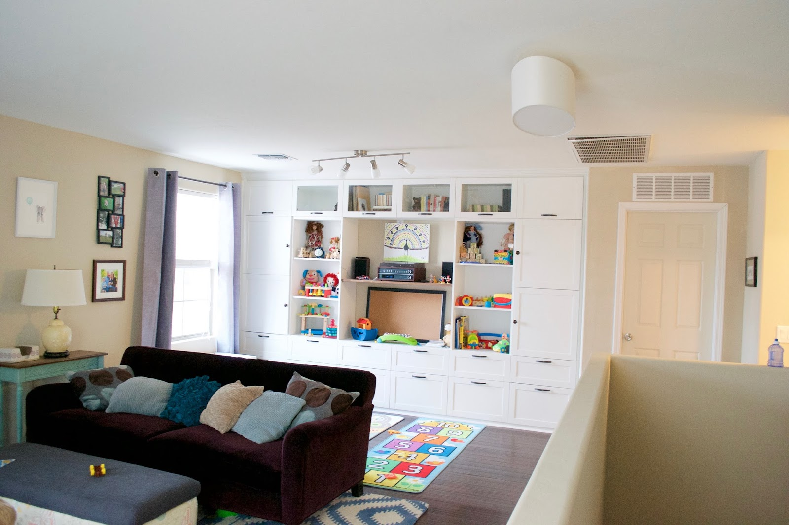 Seesaws and Sawhorses: Playroom Reveal