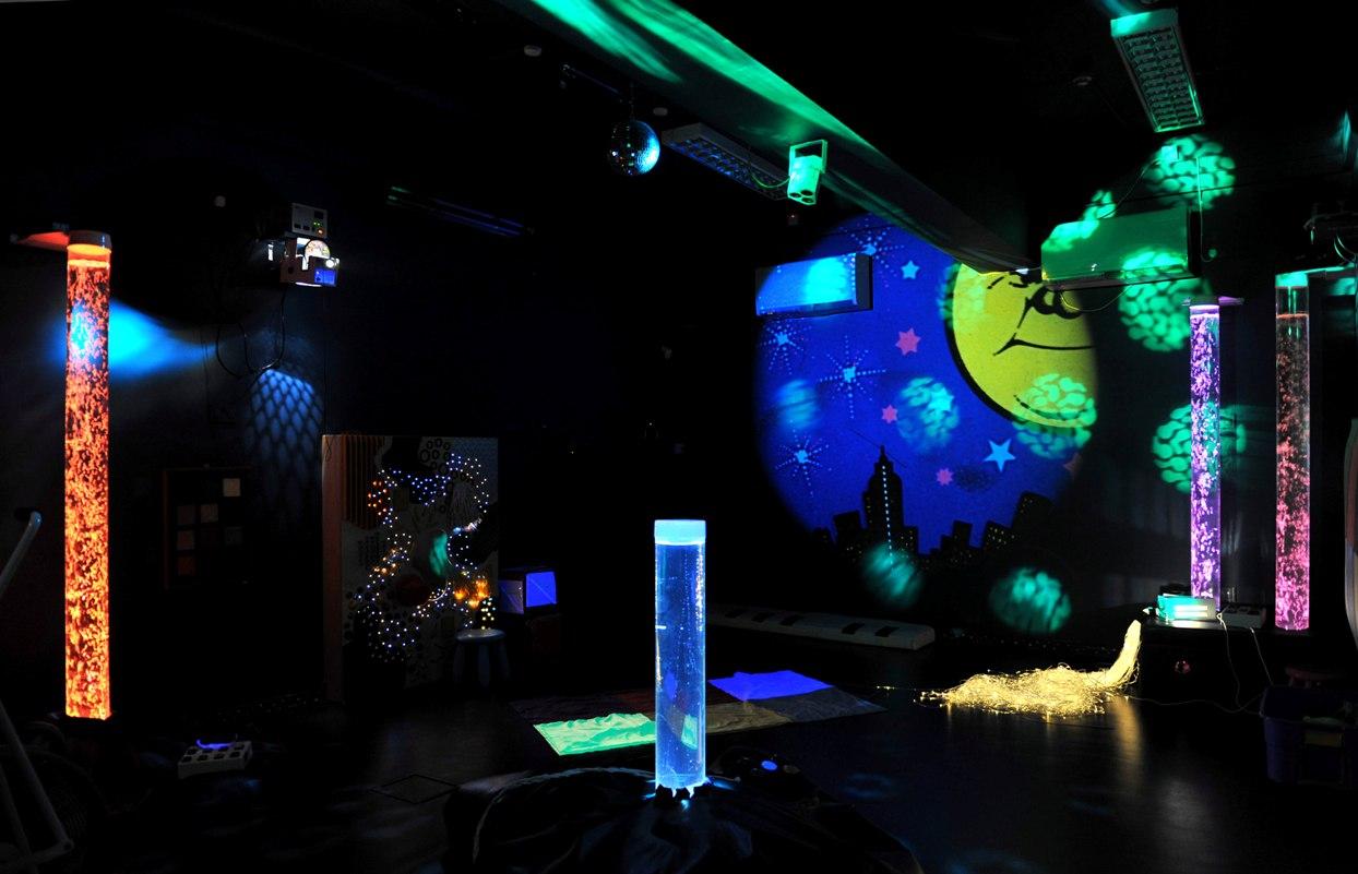 Dark Room: Mother Of Shrek: Sensory Rooms