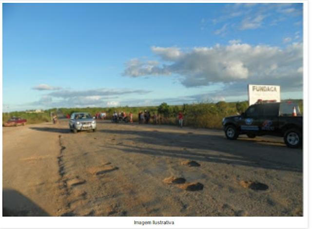 Grave acidente na AL - 220 em Delmiro Gouveia deixa uma criança morta e mais duas pessoas feridas