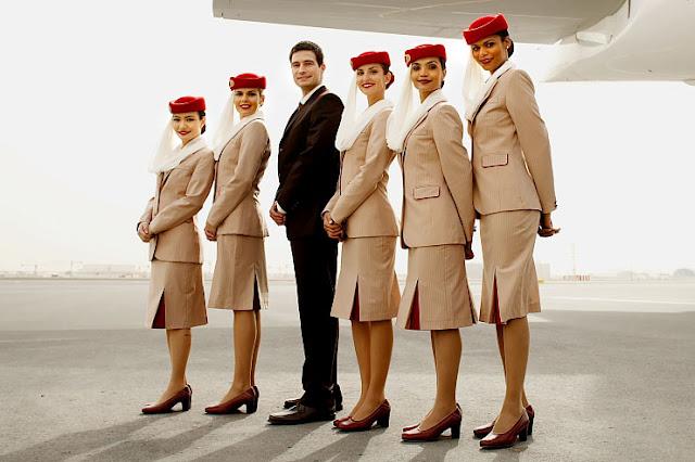 Cabin Crew Photos: Emirates Airlines Cabin Crew Uniforms