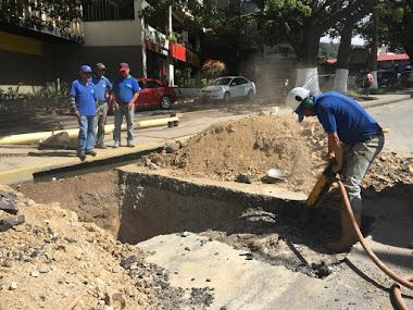 Aguas de Mérida dio por cerrado capítulo de rebose en Las Américas