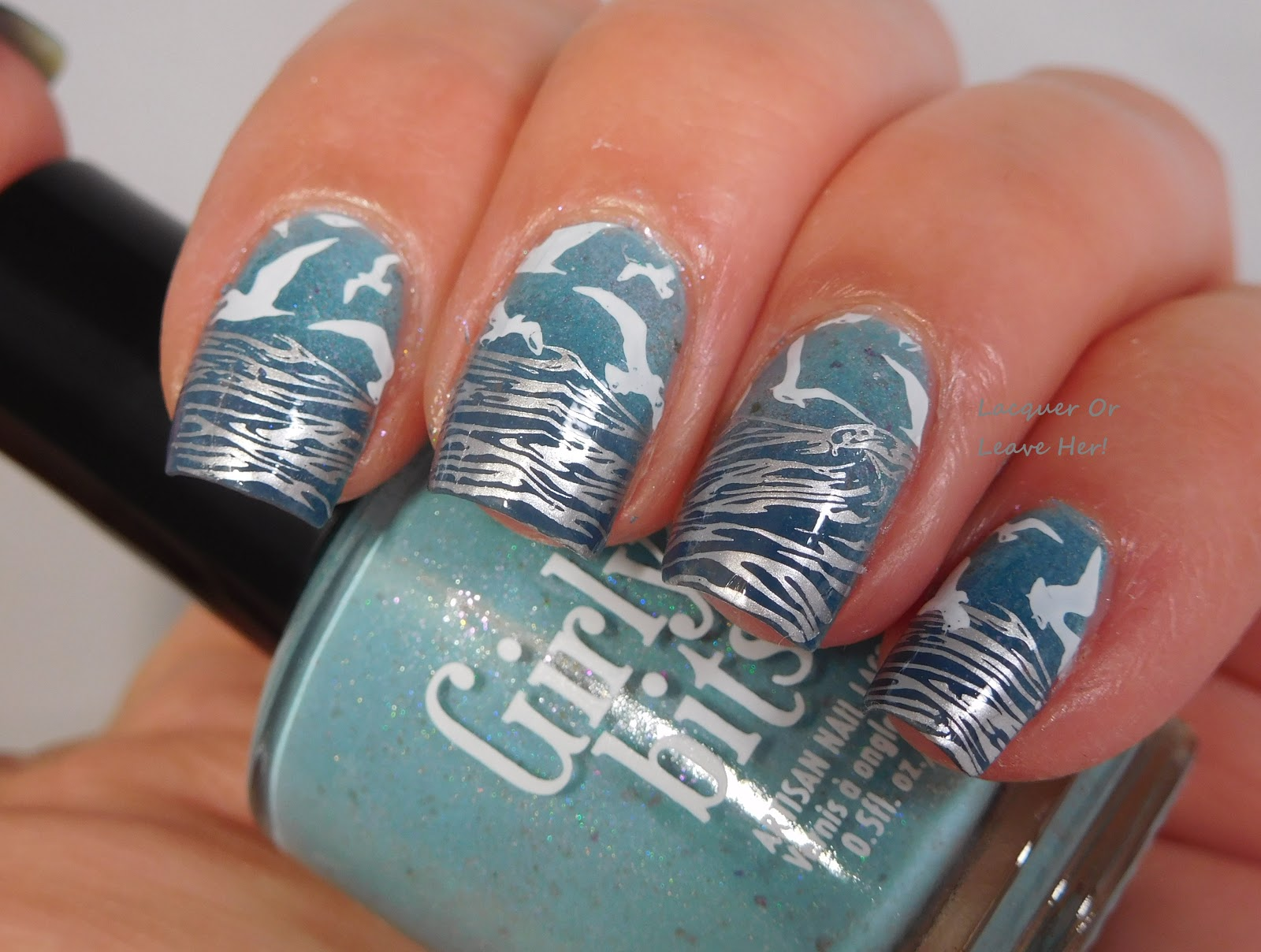 Lacquer or Leave Her!: Lina Nail Art Supplies Born To Sail 02!