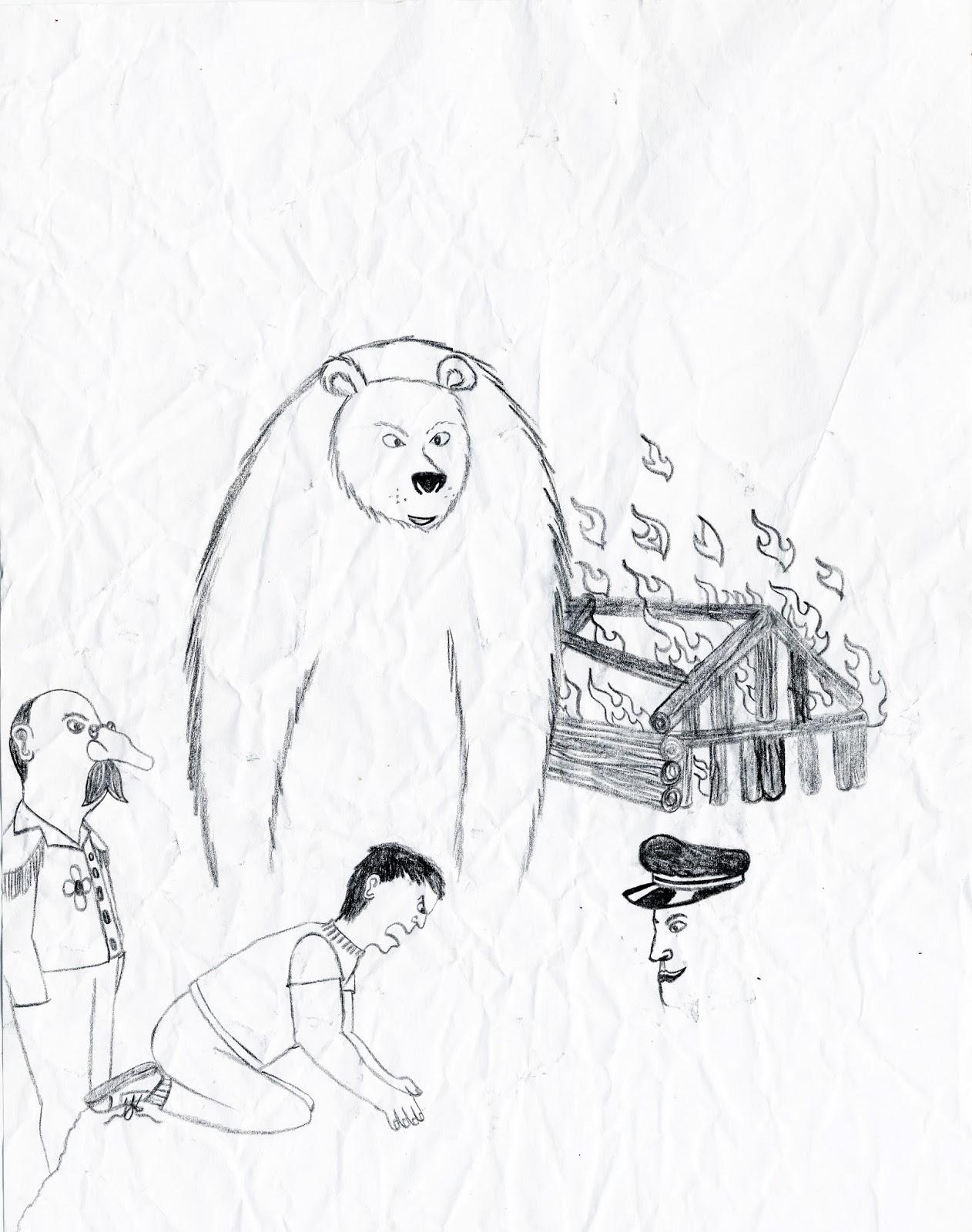 Santiago: Evolution of an artist: Touching Spirit Bear
