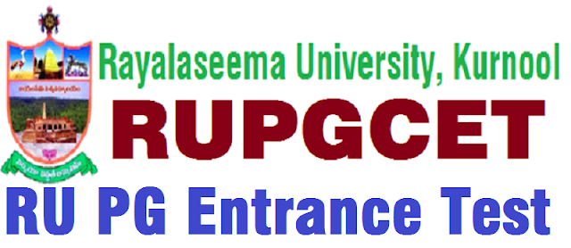 RUPGCET,hall tickets,Exam dates