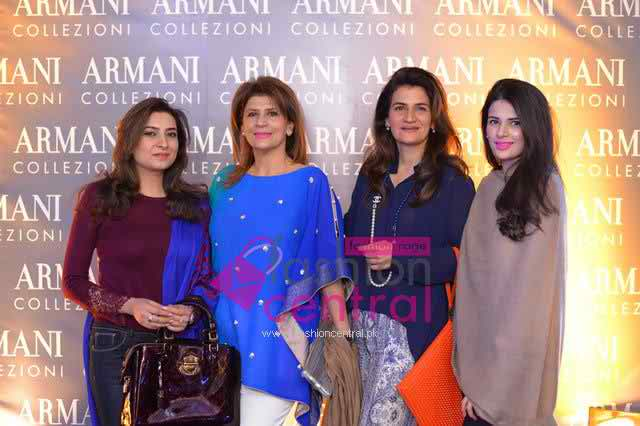 Launching of Armani Collection Store In Islamabad