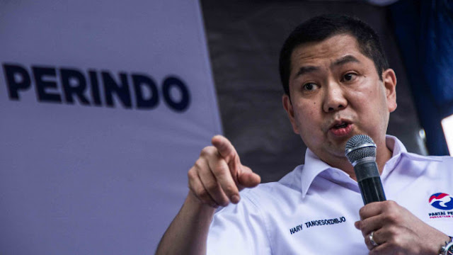 Dana Kampanye Partai Pimpinan Konglomerat Hary Tanoe Cuma Rp1 Juta?