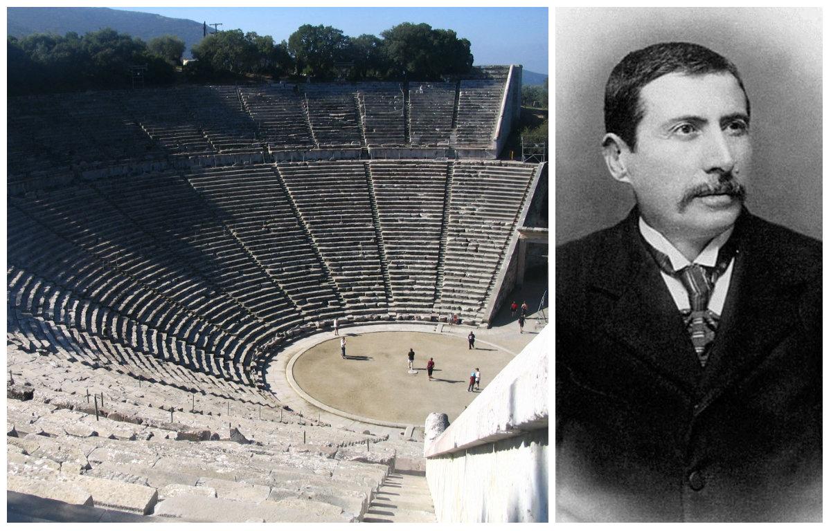 Παναγής Καββαδίας: Ο δύστροπος Κεφαλονίτης που ανακάλυψε την Επίδαυρο κι έκανε την πρώτη ανασκαφή στην Ακρόπολη