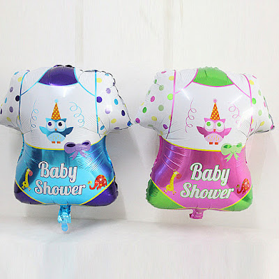Balon Foil Baby Clothes