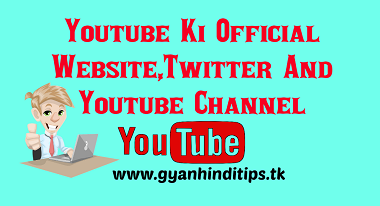 Youtube Official Website Blog And Twitter Account