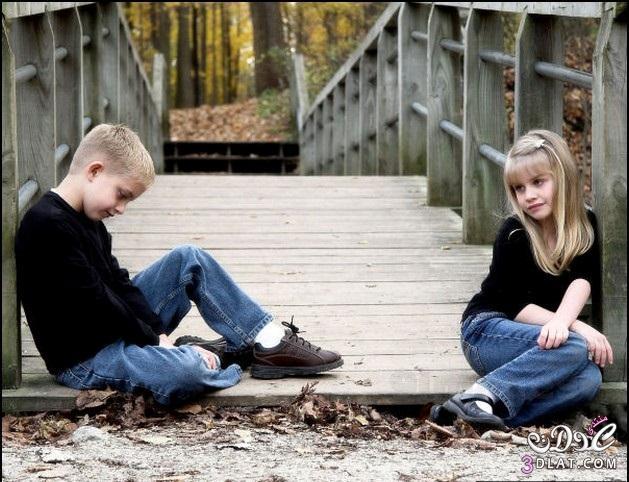 صور اطفال رومانسية 2018 ، اجمل صورة اطفال بريئين للبروفايل