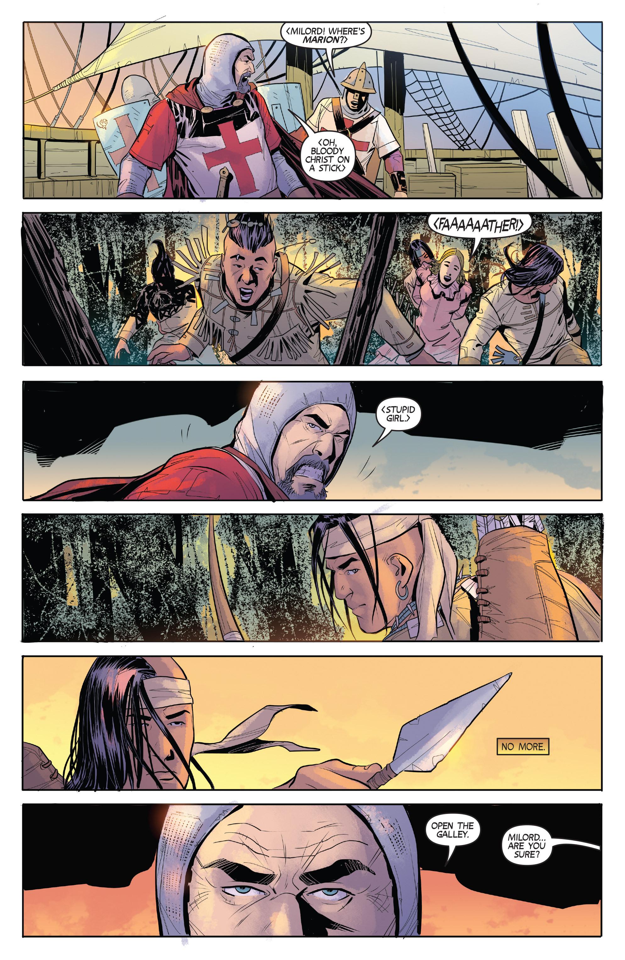 Read online Turok: Dinosaur Hunter (2014) comic -  Issue # _TPB 1 - 48