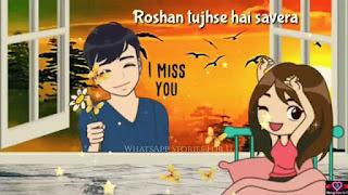 Tera Mera Jahan Female Love Whatsapp Status Video Download