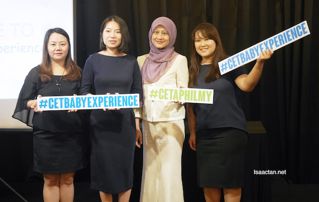The experts with Janice Ong, Cetaphil Product Manager at the Cetaphil Baby Experience Workshop