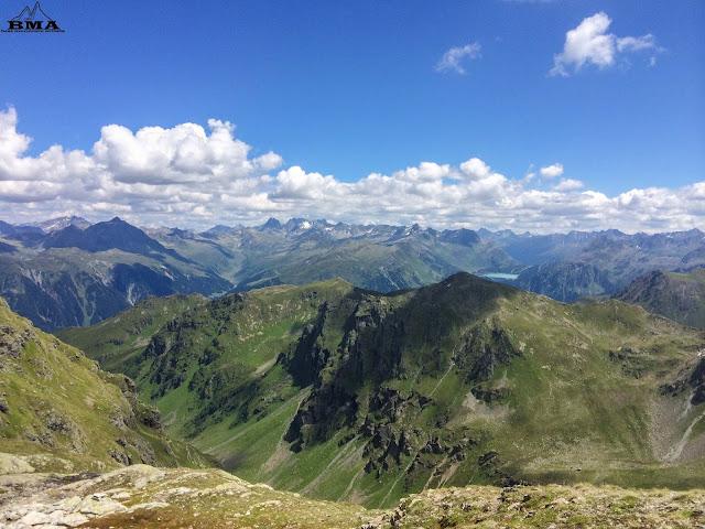 wandern montafon -  wanderung heimspitze