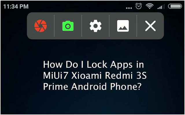 applock for redmi 3s phone