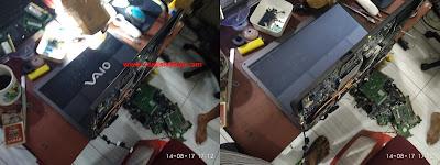 Service Laptop Sony Vaio PCG-7184L Mati