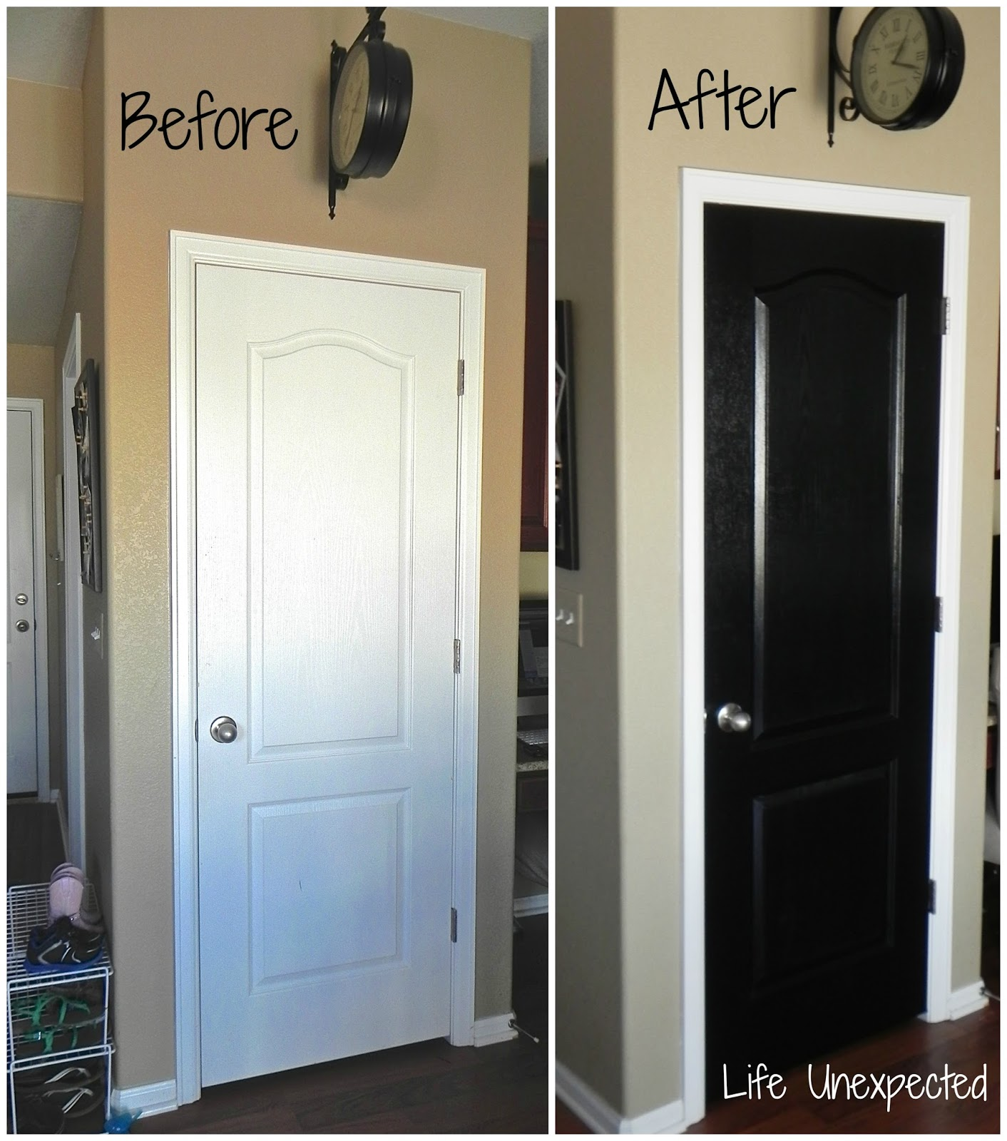 Life Unexpected: The Best Way To Paint A Door