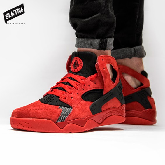 15167dd1c263 Lovely red suede and well spotted black accent and heelcage. Don t sleep on  these! Available instore and online.