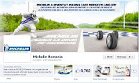 Pagina de Facebook Michelin Romania