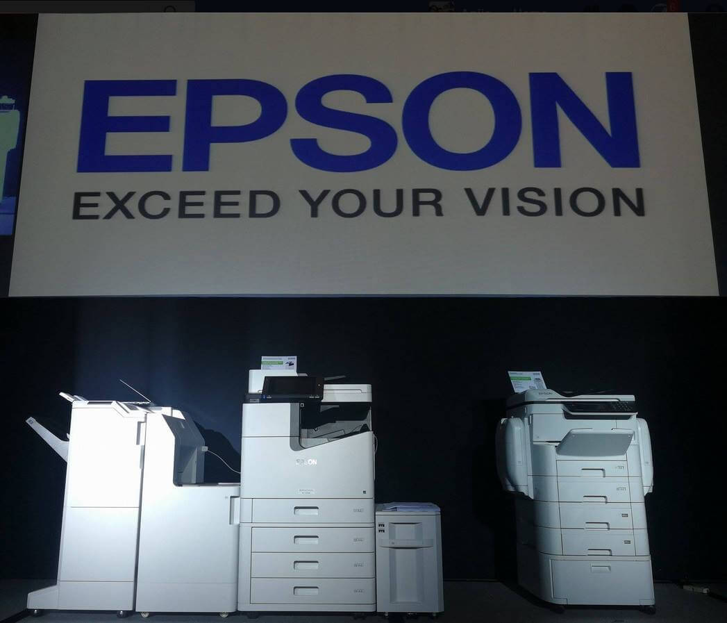 Epson Unveils New Enterprise Printers Powered By PrecisionCore Printhead Technology