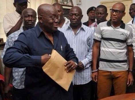 Nana Addo To Submit Nomination Forms Today; Prez Mahama Friday