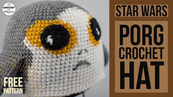 Star Wars Porg Free Crochet Pattern