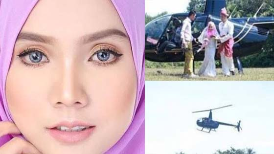 """""""Kahwin Siap Naik Helikopter!"""" - Yuyu Zulaikha Perjelas Isu Kahwin Mewah"""