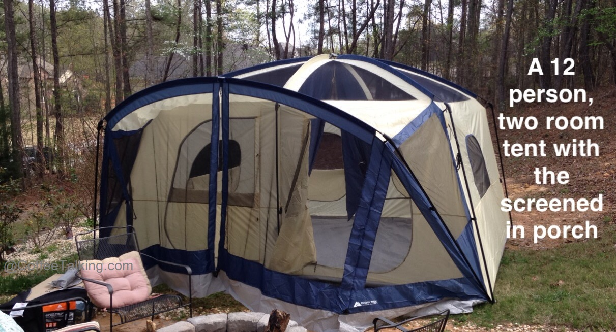 A recent planned c&ing trip that started out as me solo with my backpack and a small 2 person tent turned into a 2-person trip with a small 4 person ... & Itu0027s Just the Coffee Talking: Review of the Ozark 12 Person 2 ...