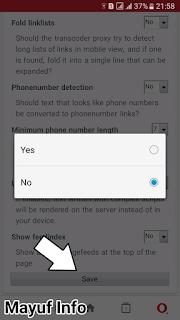 Cara Mempercepat Load Browser OperaMini Android terbaru