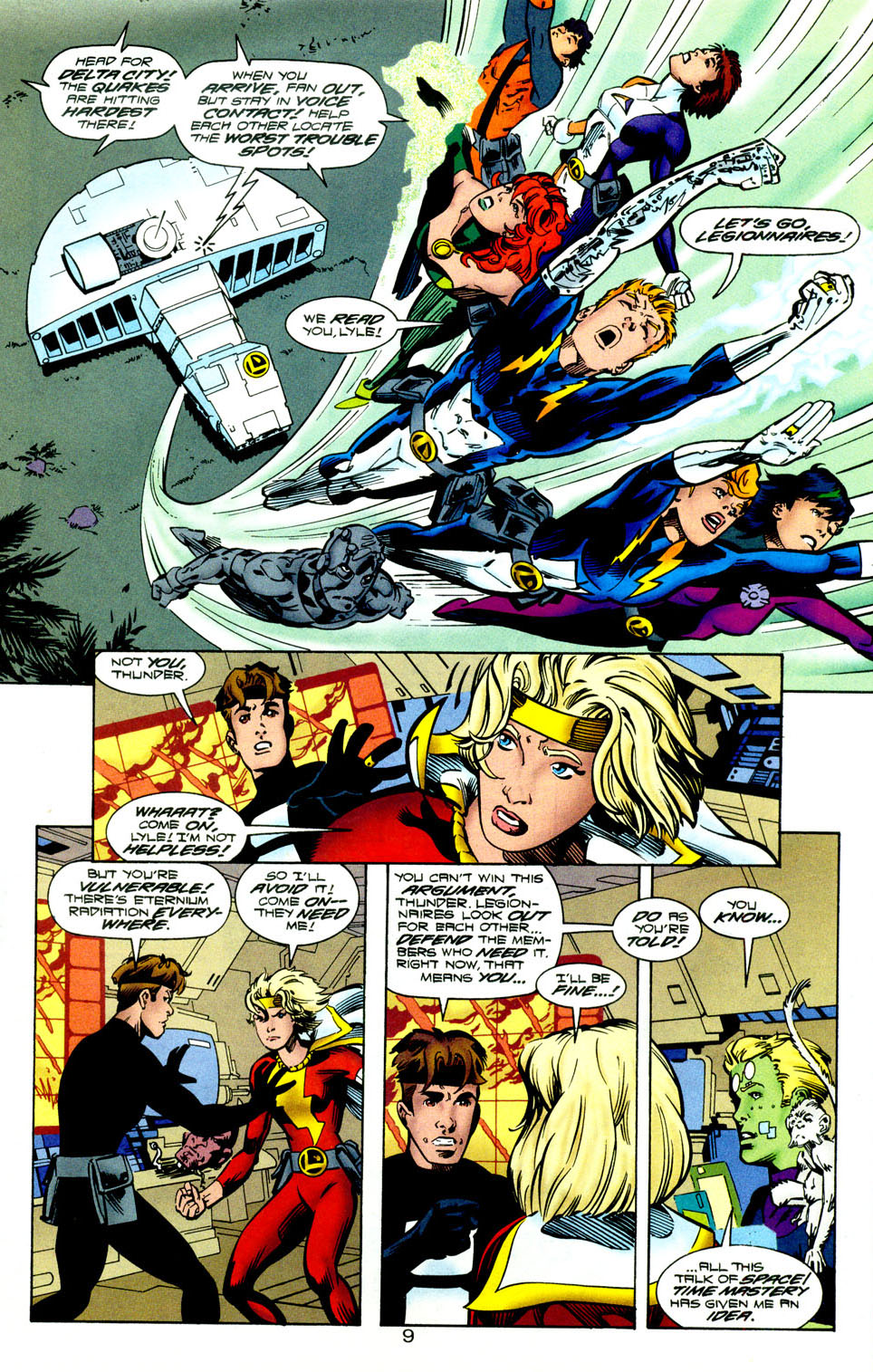 Legion of Super-Heroes (1989) 118 Page 10