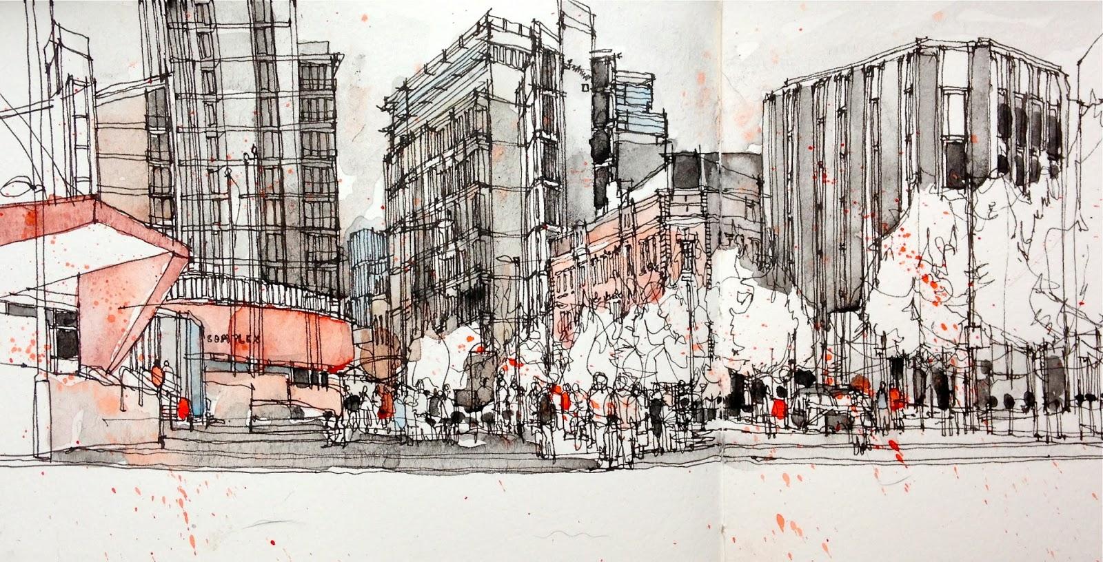 4th International Urban Sketching Symposium Recent