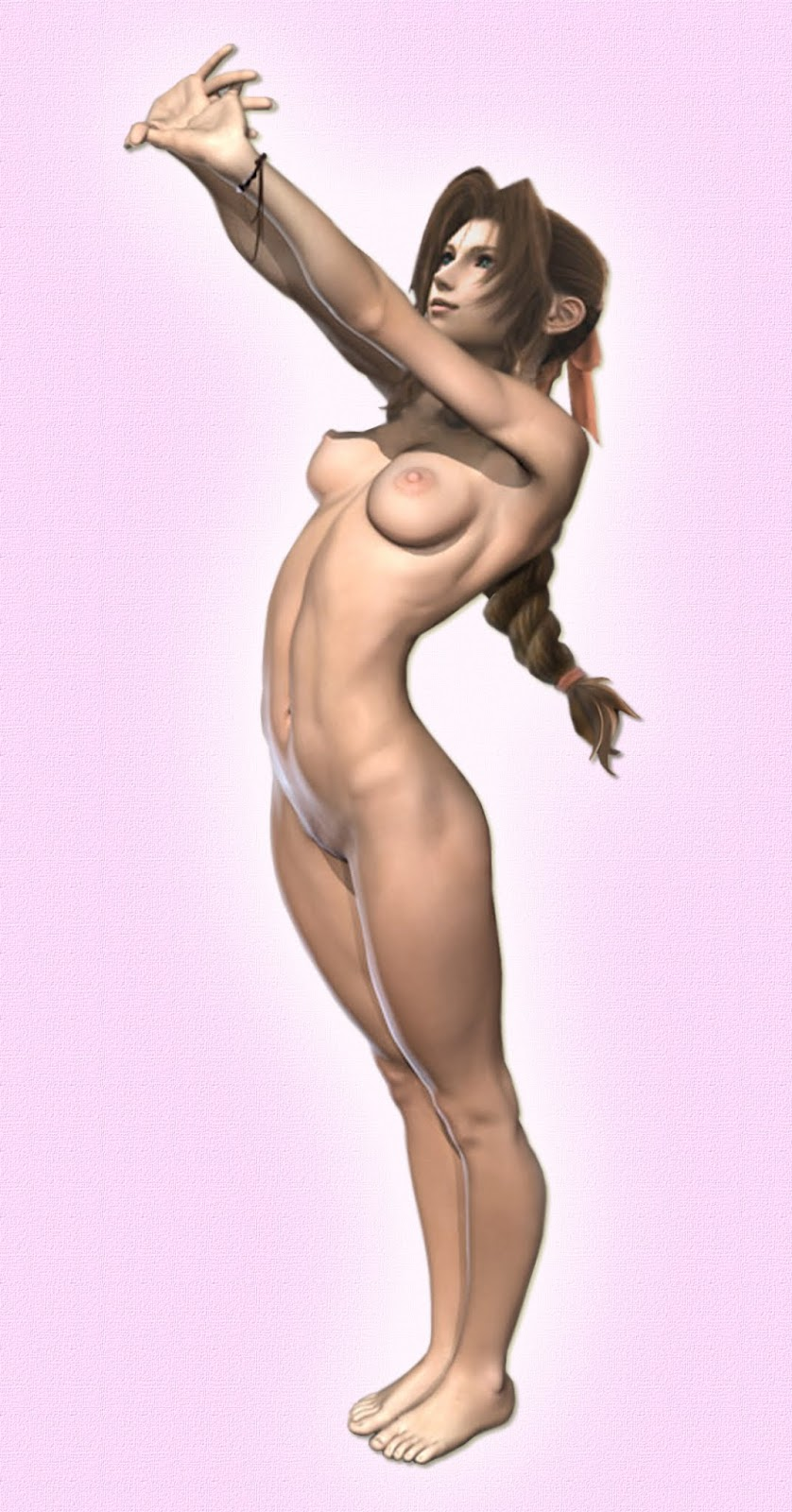 Tifa and aeris nude