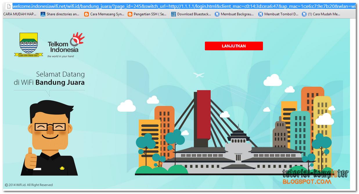 Cara login gratis wifi.id terbaru 2014 (tanpa software)
