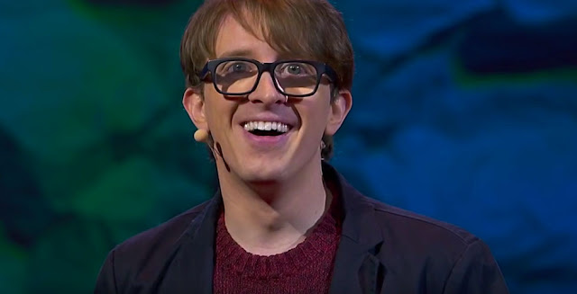 Writer and Comedian James Veitch Speaking At His Recent Ted Talk