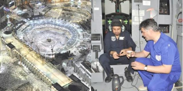 Pilot-Pilot Ini Senantiasa Berbuka Puasa Di Langit Mekkah