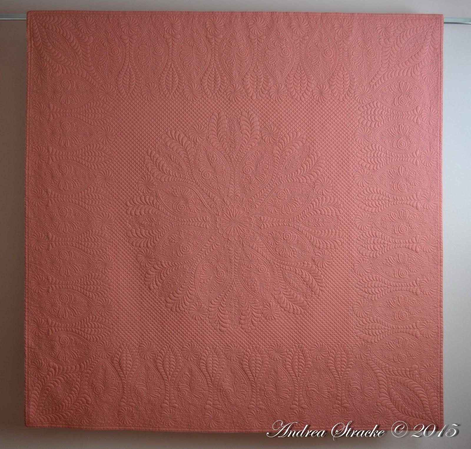 Modern Cologne Quilter: Blind date heute - Quiltkunst/Andrea