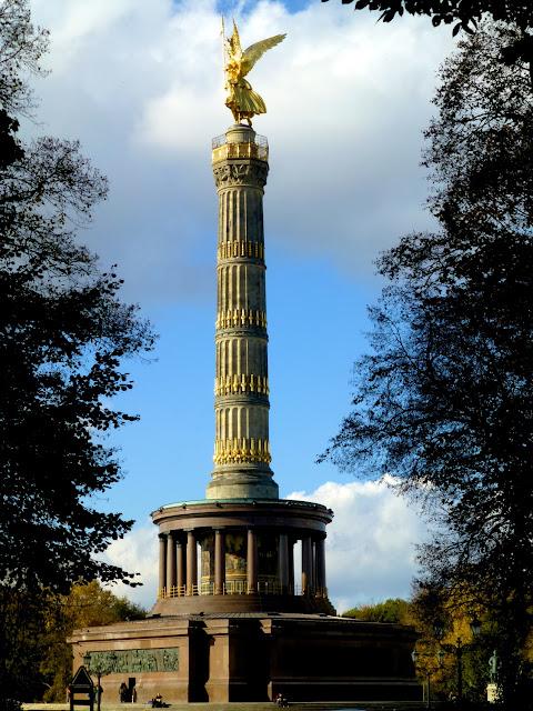 Siegessaule en Tiergarten